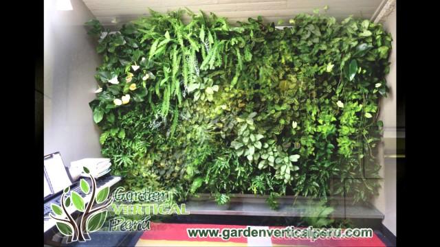 jardines verticales , jardin vertical