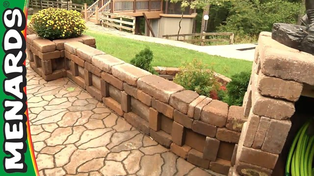 Curved Wall Planter – How To Build – Menards