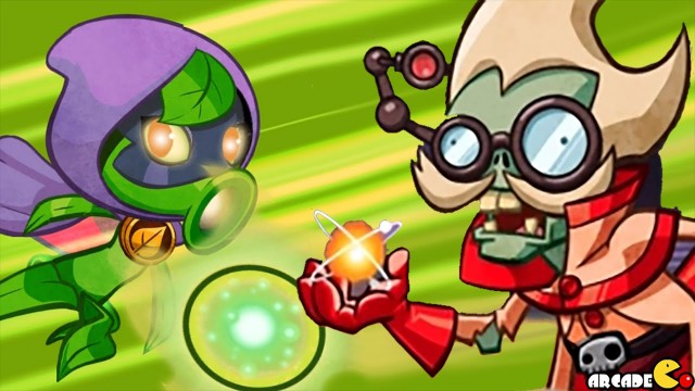 Plants vs. Zombies Heroes – Wall-Knight Msssion 10: A Schooling At Zombie U! (PvZ Heroes)