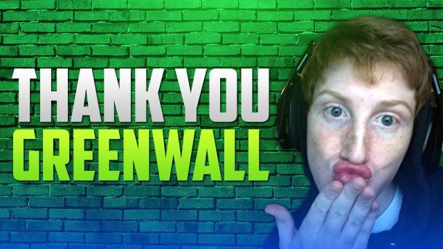 Thank you, Greenwall