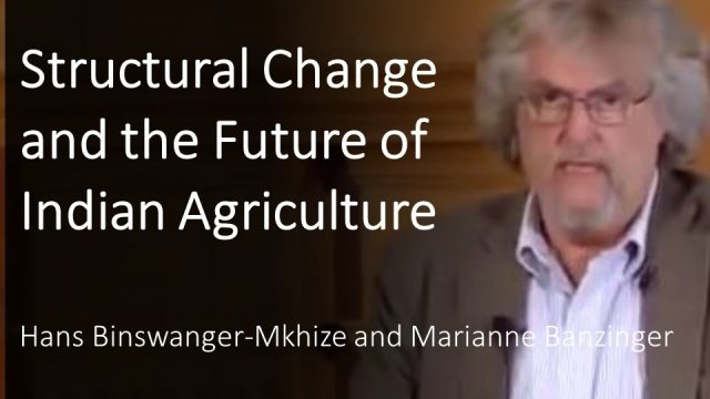 Structural Change and the Future of Indian Agriculture