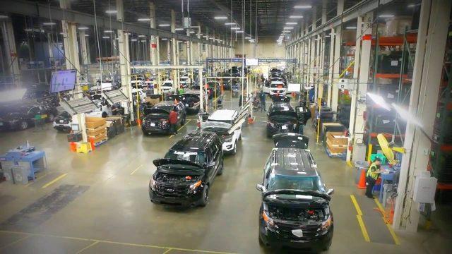 #FORD 100 000 Ford Police Interceptor   Chicago Plant