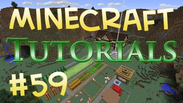 Minecraft Tutorial 59 – Underground Farming – Setting Up