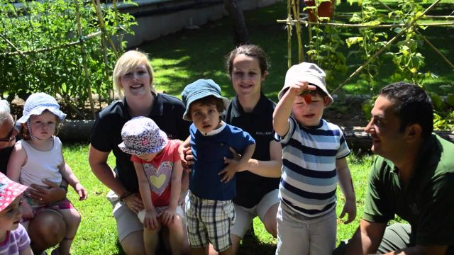 Almyra Kids club – Harvesting in the garden