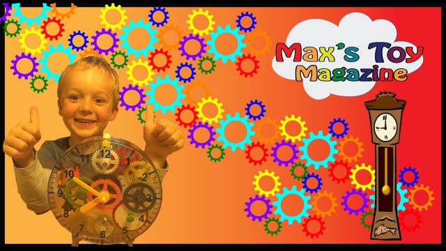 Clock Building kit Learning for kids, Family Fun Toy Opening Review for Kids Maxs Toy Magazine