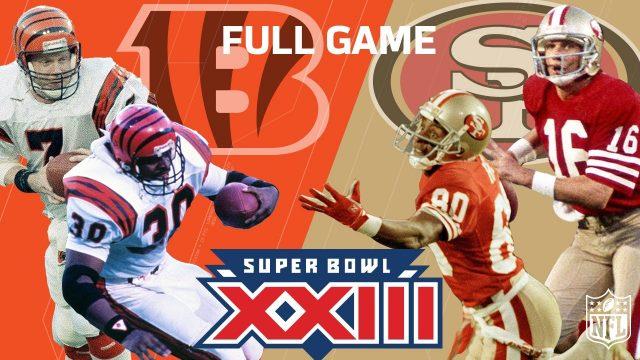"Super Bowl XXIII: ""Montana & Rice's Legendary Performance"" | Bengals vs. 49ers | NFL Full Game"