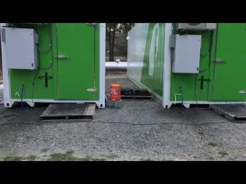 Freight Container Vertical Hydroponic Farm (Better Fresh Farms, Guyton GA)!!!