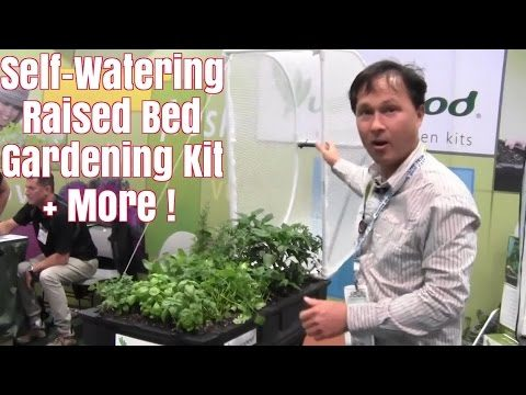 Self Watering Raised Bed Garden + More from 2017 National Hardware Show