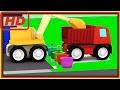 Kid USA –  Cartoon FLOWER GARDEN! – Cartoon Cars Playground – Car Cartoons for Kids. Kid's Cartoons
