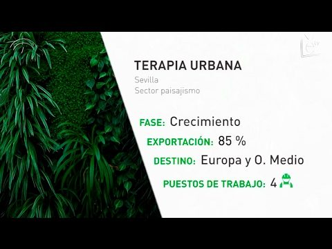 Los jardines verticales de Terapia Urbana conquistan el mercado europeo