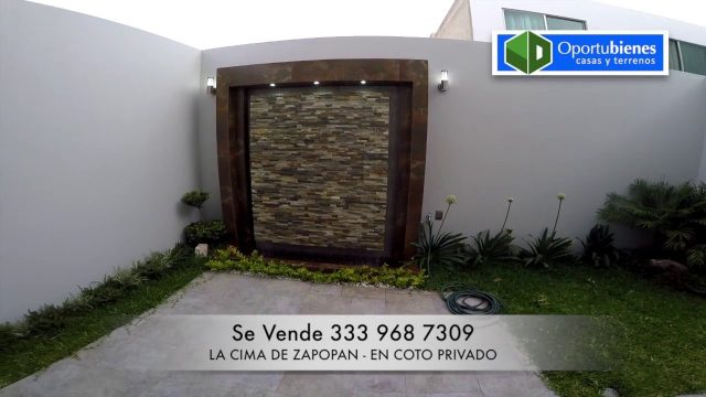 VENDIDA – Casa 227 – La CIMA de ZAPOPAN – en COTO con ROOF GARDEN