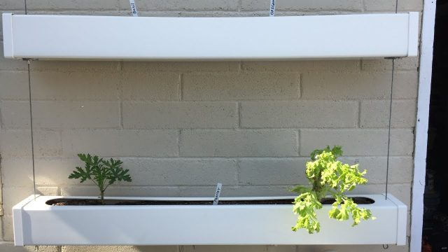 DIY Vinyl Fence Post Hanging Planter Boxes