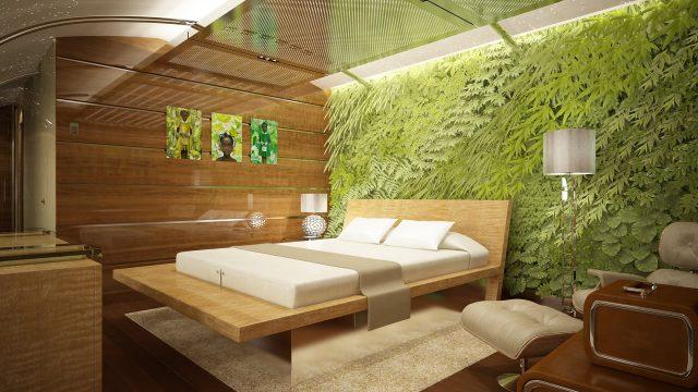Private Boeing 787-9 Dreamliner 'Living Wall' Designed by Edése Doret