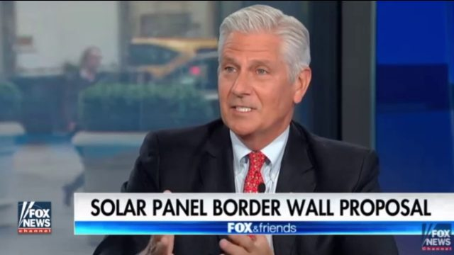 """Trump's Solar Powered """"Green"""" Wall Pitched To GOP Leaders"""