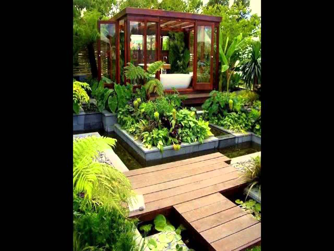 Dise o de jardines peque os gardening video forum for Estanques pequenos