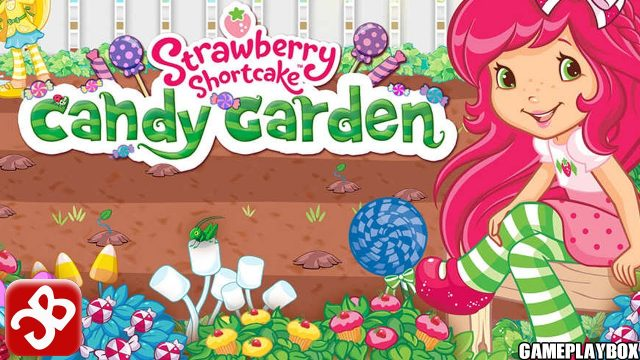 Strawberry Shortcake Candy Garden – for Kids – iPhone/iPad/iPod Touch Gameplay Video