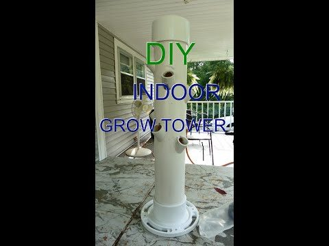 Grow Tower Mini version Part 1