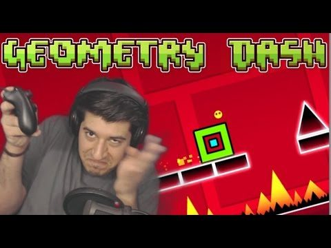 """OVA IGRA ME STRGALA!!!!""-GEOMETRY DASH (RAGE MODE)"