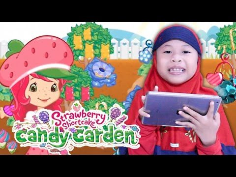 Strawberry Shortcake ❤ Candy Garden ❤ Game for Kids