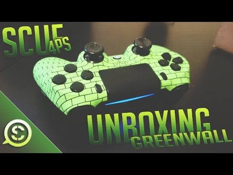 NEW! OpTic Greenwall Scuf Controller 4PS Unboxing! @ScufGaming @OpTicGaming
