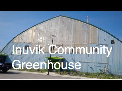 Inuvik Community Greenhouse Gardening in the Arctic