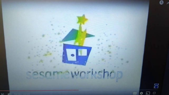 Sesame Workshop Green Roof/Blue House Logo with 2006 WNET Audio