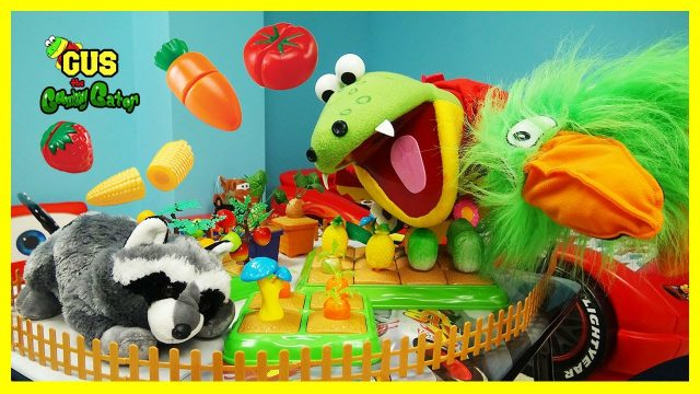 Pretend Play Food Toys Gus Gardening Fruits and Vegetables Cooking Playtime Funny Video for kids