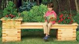 How to Build a Planter Bench – This Old House