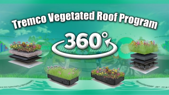 Tremco Vegetated Roof Program in 360