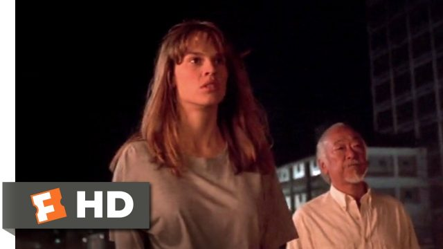 The Next Karate Kid (1994) – Julie Fights Ned Scene (9/10) | Movieclips
