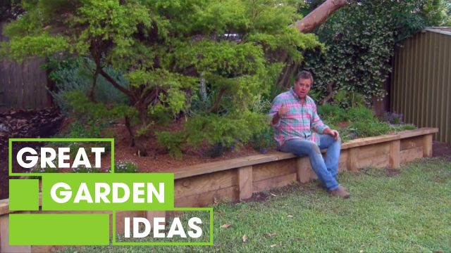 Jason builds an easy, affordable retaining wall