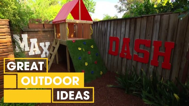 Jason Hodges: Compact Kids Courtyard, Ep 8 (21.03.14) | Great Home Ideas