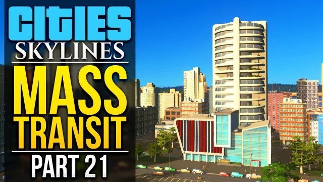 Cities: Skylines Mass Transit | PART 21 | VERTICAL FARMS