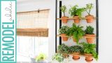 IKEA Hyllis Hack: DIY Indoor herb Garden