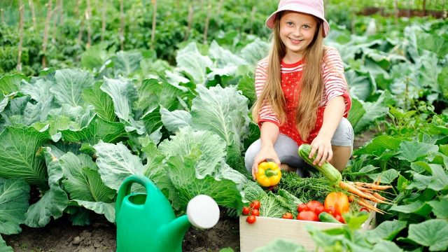 Teaching children the joy of gardening